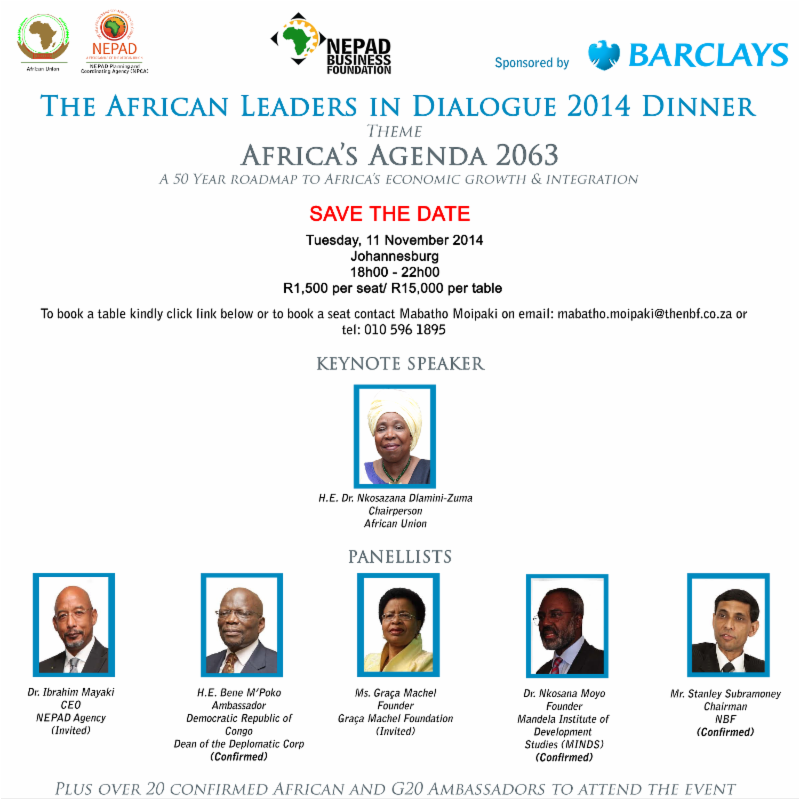 African Leaders dialogue Dinner