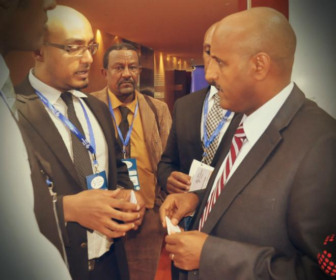 Michael And Tewolde Gebremariam Ethiopian Airlines Ceo